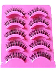 BESTIM INCUK 5 Pairs Makeup Beauty False Eyelashes Eye Lashes Extension