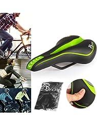 Ondeni Fahrradsattel mit wasserdichter Fahrradsattelbezug MTB Gel Sattel Mountainbike Sattel City Tourensattel Trekking Rennrad Sattel