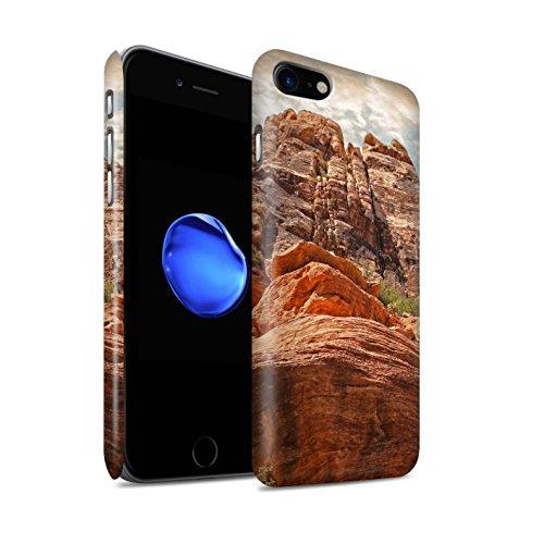 STUFF4 Matte Snap-On Hülle / Case für Apple iPhone 8 / Berge Muster / Bundesstaat Nevada Kollektion Berge