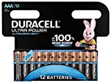 Duracell Ultra Power Batterie Alcaline, Ministilo AAA, Confezione da 12, pacco del produttore