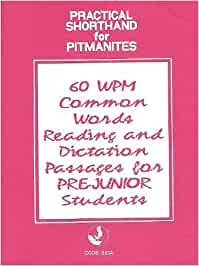 Buy SHORTHAND 60 WPM Common Words Reading and Dictation