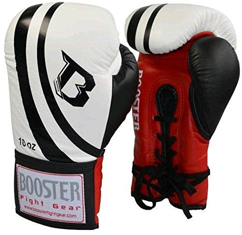 BOOSTER Wettkampf Boxhandschuh weiß 10oz