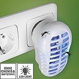 Indoor Insektenfalle, (2 Stück) Insektenabwehr,...