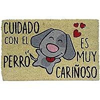 Koko Dormats Felpudo para Entrada de Casa Original, Cuidado Perro, Fibra de Coco y PVC, 40x60cm