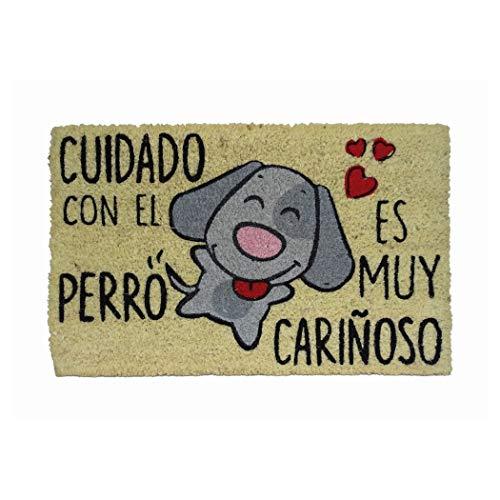 Koko Doormats Cuidado con el Perro