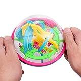CHLADDY Kinder 3D 100 Barrieren Große Intellekt Ball Gleichgewicht Labyrinth Spiel Pädagogisches Spielzeug Geschenk