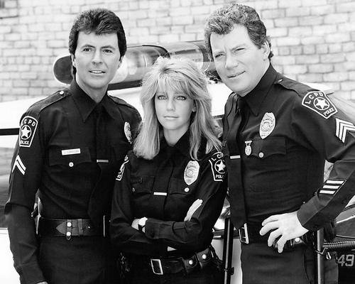 tj-hooker-con-william-shatner-heather-locklear-james-darren-10-x-8-promozionale-fotografia