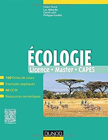 Ecologie - Fiches de cours, exemples appliqués et QCM