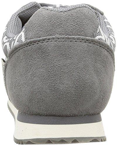 Calvin Klein Jeans Major, Baskets Basses Homme Gris (Pwr)