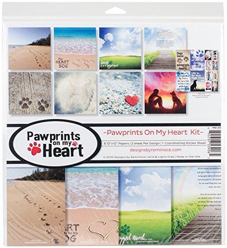 Unbekannt Erinnerung paw-200on My Heart Scrapbook Kit mit Pfotenabdrücken -
