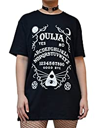 Occult Ouija Board T Shirt - Alternative Gothic Clothing For Women by Luna Cult
