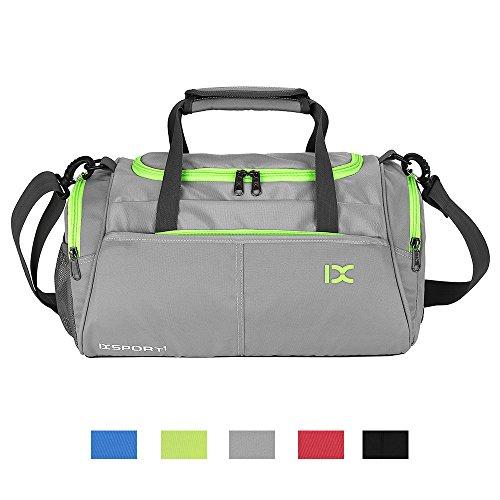 CHIKENCALL Fitness Sport Gym Sporttasche Kleine Seesack für Männer und Frauen mit Schuhfach Wasserdichte Reisetasche
