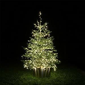 led lichterkette warmweiss f r au en innen weihnachtsbaum k che haushalt. Black Bedroom Furniture Sets. Home Design Ideas