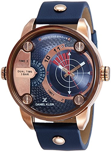 Daniel Klein Analog Blue Dial Men's Watch - DK11114-5