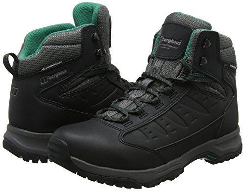 Berghaus Women's Explorer Active M Gore-Tex Walking Boots High Rise Hiking, Black (Black/Dark Grey Bk2), 5 UK 38 EU
