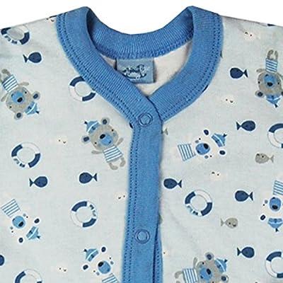 Tiny Baby Girls Boys Clothing Sleepsuit Vest Bib Pink Blue Gift
