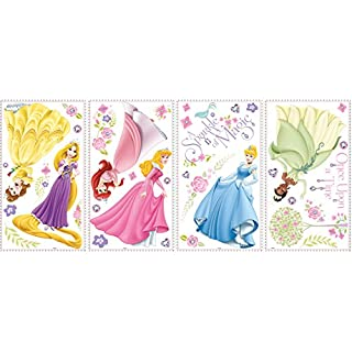 RoomMates 27 x 12.7 x 2.3 cm Glow Within Disney Princess Wall Stickers