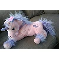 "Girlie Paws Pink Unicorn Soft Toy Plush 21"" 54cm"