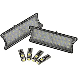 MagiDeal Car 27 LED Interior Roof Courtesy Light Lamps Pack of 6