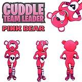 LCLrute Cuddle Team Leader Fortnite Adorable Cartoon Soft Pink Bear Doll -Stuffed Plush Doll Toy