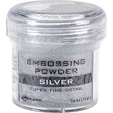 Ranger Sf Silver -Embossing Powder, Acrylic, Multicolour