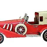 ROMEYA Metall Vintage Red Classic Car Modell Schwert Im Auftrag Von Wyler Sport Car,Red