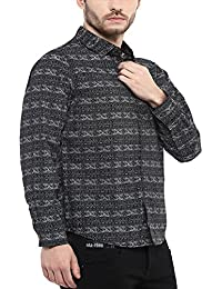 Mufti mens casual shirts online buy mufti mens casual shirts at mufti mens black slim fit mid rise casual shirts fandeluxe Choice Image