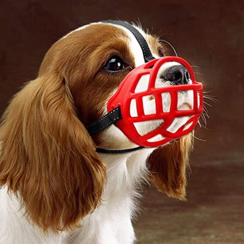 Silikon-Korb Hund Maulkörbe, Ermöglicht Trinken, Keuchen und