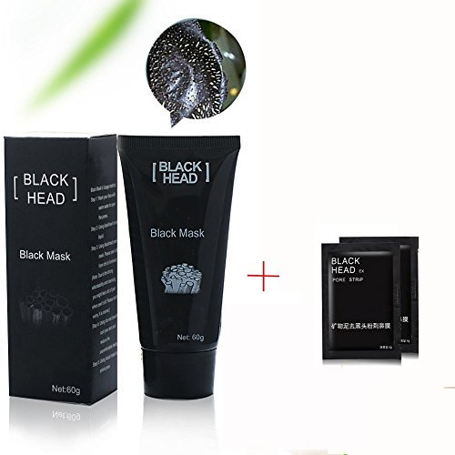 #Gesichtsmaske Black Head Mask Blackhead Peel Off Mitesser Maske, Tiefenreinigende Gesichtsmaske, Bamboo Charcoal Schwarz Purifying Tearing style Maske, Porenreiniger Maske/ schwarze Schlamm Gesichtsmaske, Deep Cleansing Akne Peel Off Maske, Blackhead Killer Mitesser maske Black Mud Mask (60g)+ 10PC Nose Mask#