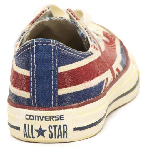 Converse Ctas Union Jack, Baskets mode mixte adulte Multicolore