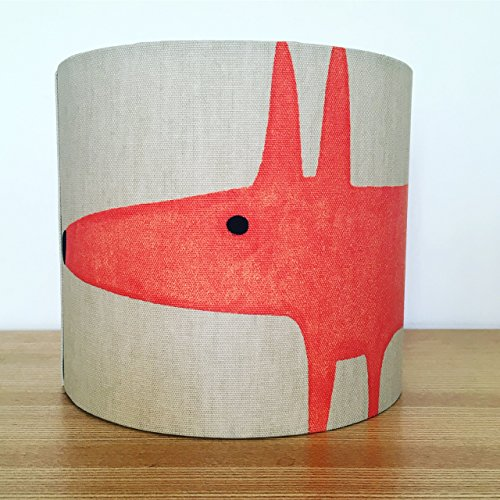 handmade-20cm-fabric-lampshade-featuring-mr-fox-by-scion-uk-neutral-and-paprika-colour-way-for-ceili