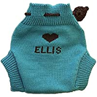Personalized lana merino per pannolini, motivo: giardino