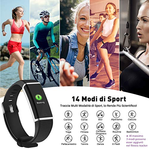 Zoom IMG-2 omorc fitness tracker schermo a