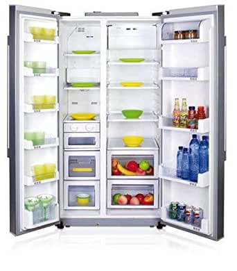 haier hrf 660saa frigo am ricain frigos am ricains autonome acier inoxydable a led. Black Bedroom Furniture Sets. Home Design Ideas