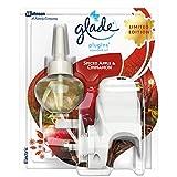 Glade PlugIns Duftöl-Lufterfrischer Starter-Set, Spiced Apple und Zimt, 20 ml