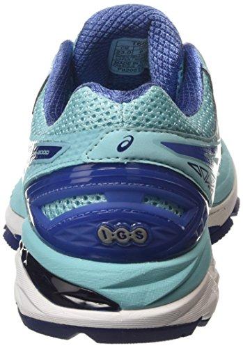 Asics Damen Gt-2000 4 Laufschuhe Blau (turquoise/indigo Blue/slate Blue 4050)