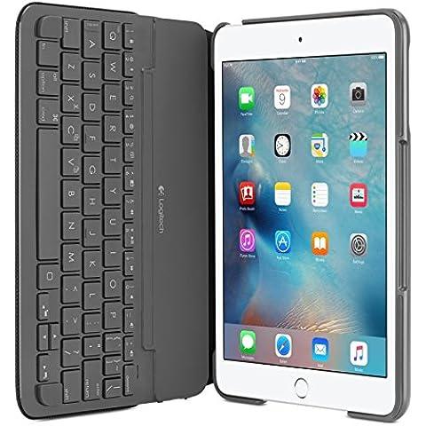 Logitech CANVAS Funda con teclado para iPad mini, 2, 3
