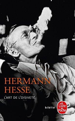 L'Art de l'oisiveté par Hermann Hesse