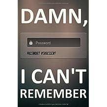 Passwort vergessen?: Das Passwort Buch mit Register zum Eintragen von Passwörtern von A bis Z
