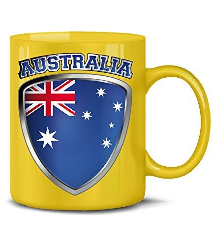 Fútbol–Fan Artículo–Australia–Taza de café taza d