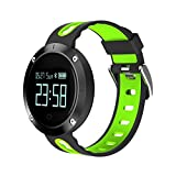 LENCISE Smart Sportwatch IP68 Waterproof for Swimming Showering Heart Rate Smart Fitness Health Monitoring Smartwatch