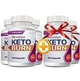 Revolyn Keto Burn - Diätpille für effektiven Gewichtsverlust | 5 Flaschen zum Preis von 3 (5 Flaschen) |