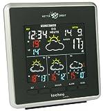 Technoline, WetterDirekt Wetterstation WD 4026 mit Innen- und Außentemperaturanzeige sowie Wettervorhersage für 4 Tage - 4