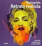 Retrato Realista. Ilustración Contemporánea De Lápiz A Digital