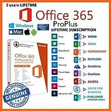 Microsoft Office 365 Pro Lifetime Subscription Windows/Mac