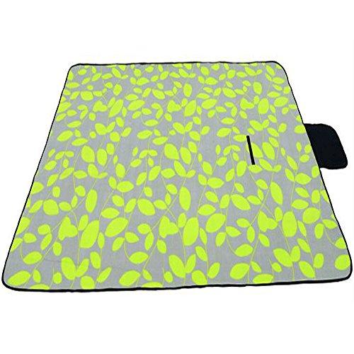 XY&CF 200 x 150 cm couverture de pique-nique imperméable à l'eau en plein air plage pique-nique tapis avec poignée (Couleur : C)