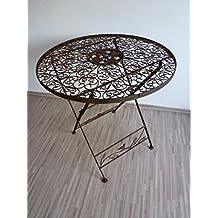 Fantastisch Gartentisch Klapptisch Metalltisch Tisch Metall Rund 70 Cm WK070828