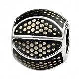 TAOTAOHAS Charms Beads Perles, en argent 925/1000 sterling Pendentif [âme]