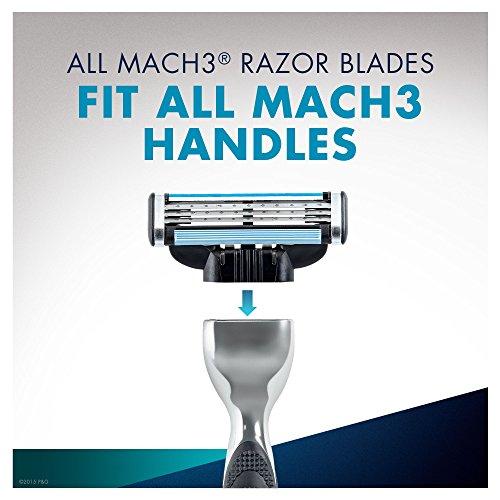 Gillette Mach3 Manual Razor Blades – Pack of 8 Blades