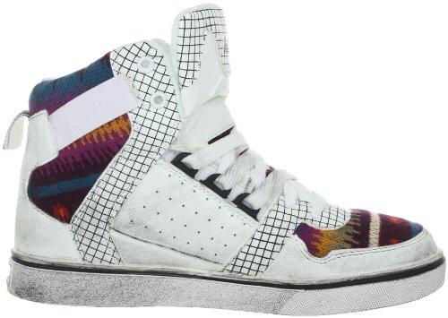 Nat-2 CUBE 2 W Damen Fashion Sneakers Weiss (white vintage)